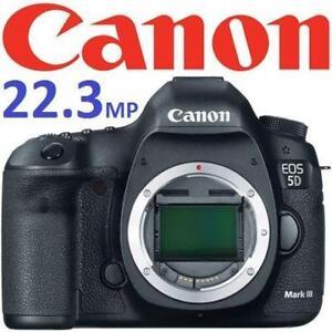 NEW* CANON 5D MARK III CAMERA BODY 5260B009 191891368 22.3MP EOS DSLR DIGITAL PHOTOGRAPHY