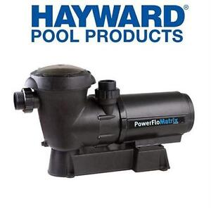 NEW* HAYWARD 1HP POOL PUMP W/ BASE SWIMMING POOL ACCESSORIES Outdoor Living Pool Equipment Parts