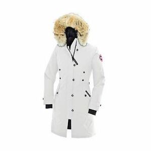 Canada Goose Kensington Jacket in White, Women's Small