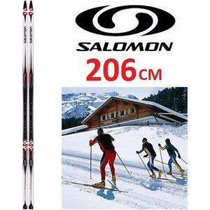 NEW SALOMON CROSS-COUNTRY SKIS   5 Escape Grip Ski - 206CM SKI SKIING SNOWSPORTS SNOW GEAR 98241437
