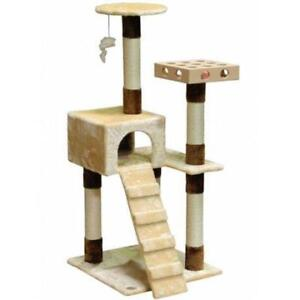 New Go Pet Club SF058 IQ Busy Box Cat Tree House Toy Condo Pet Furniture (MSRP $118), PICKUP ONLY - DI6
