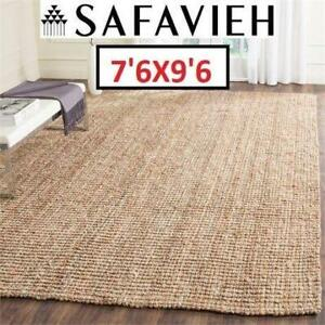 NEW SAFAVIEH NATURAL FIBER AREA RUG NF447A-810 244404823 76 x 96 JUTE RUGS CARPET FLOORING DECOR ACCENTS