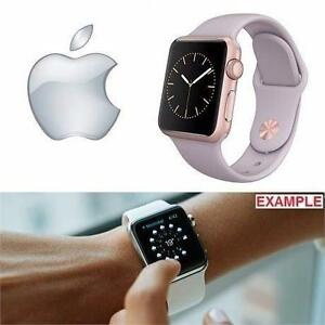 REFURB APPLE WATCH SPORT 38MM   38MM ROSE GOLD ALUMINUM CASE - LAVENDER BAND -SMART WATCH IPHONE 98758574