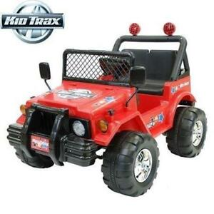 NEW* KIDTRAX RIDE ON 12V JEEP 04KT14R 198641727 KID TRAX XPLORE