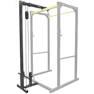 Lat/Low Attachment for Iron Factory Power Rack IRPOWRLAT