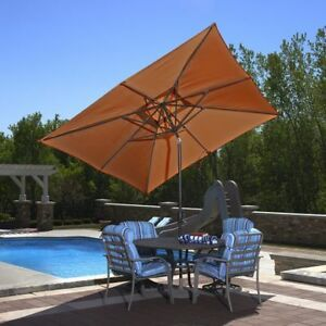 Patio umbrella and metal weight base