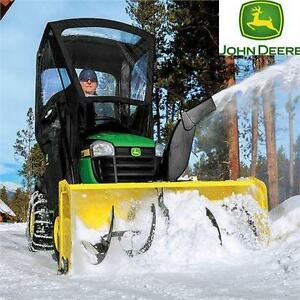 "NEW JD 44"" SNOW BLOWER ATTACHMENT 44 INCH JOHN DEERE SNOW BLOWER ATTACHMENT FOR 100 SERIES TRACTORS WINTER SNOW 83965870"