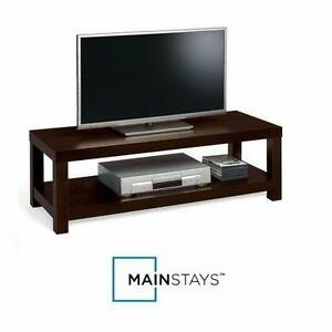 "NEW* MAINSTAYS TV BENCH STAND TV BENCH STAND ESPRESSO - TVs UP TO 40"" HOME FURNTIURE TABLE 91651110"
