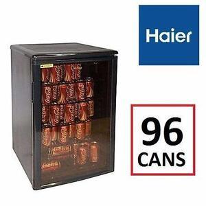 NEW* HAIER BEVERAGE CENTER  Haier HBCN05EBB Beverage Center Holds 96 Cans BAR MINI FRIDGE 97186147