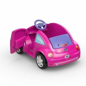 Kids Pink ride on car VolksWagon Dora origional $199 New pack
