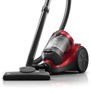 Dirt Devil Breeze Bagless Canister Vacuum Cleaner  - Red