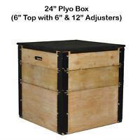 Northern Lights Plywood Plyo Boxes with Rubber Top PBWOOD