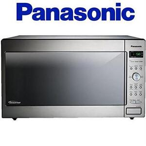 NEW* PANASONIC MICROWAVE OVEN W/ INVERTER TECHNOLOGY - 1250W - 2.2 CU. FT. Small Appliances