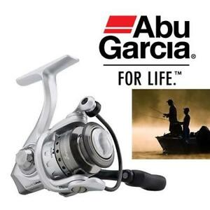"NEW ABU GARCIA FISHING REEL SMAXSP40 201307840 SILVER MAX SPINNING 29"" RETRIEVE RATE OUTDOORS"