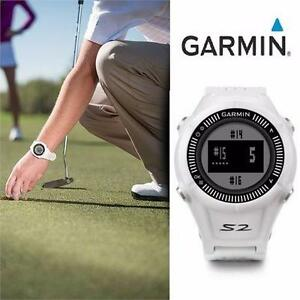 REFURB GARMIN S2 GPS GOLF WATCH   APPROACH S2 GPS WATCH - SPORTS & OUTDOORS - GOLF PRODUCTS - GOLF ACCESSORIES 98656213