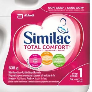 Brand New 8 x Similac Total Comfort™ Baby Formula