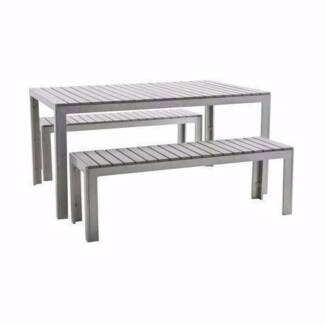 Freedom Indoor Outdoor Dining Table Benches Similar For 2449