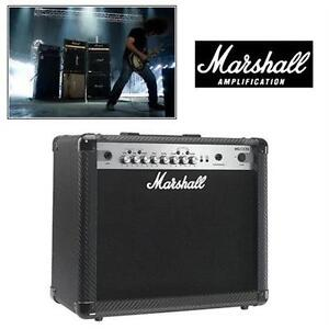 NEW OB MARSHALL GUITAR COMBO AMP MG4 CARBON SERIES AMPLIFIER - 1 x10 COMBO W/ 4 PROGRAMMABLE CHANNELS