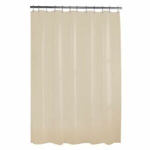 NEW: Heavyweight 10G Shower Curtain or Liner (Beige or Brown)