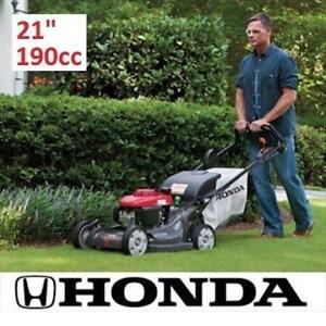"OB HONDA SELF PROPELLED LAWN MOWER HRX217HZA 193319347 ELECTRIC START GAS WALK VARIABLE SPEED 21"" 190CC OPEN BOX"