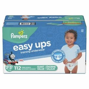 Pampers Easy Ups training underwear Size 2-3 new unopened box