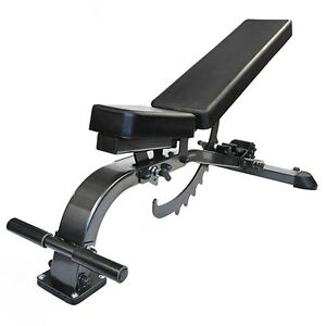 FITNESS DEPOT STEALTH Super Bench - Full Commercial STSUPERBFC