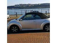 VW beetle 2006 silver