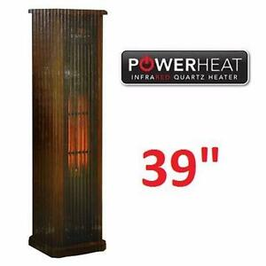 "NEW POWERHEAT 39"" TOWER HEATER   INFRARED QUARTZ - HEATING SPACE HEATER HOME RENOVATION MATERIAL 92449669"