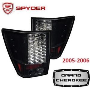 NEW SPYDER AUTO LED TAIL LIGHT 5005526 210341123 Auto Jeep Grand Cherokee BLACK 2005-2006