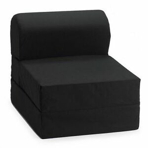 NEW BLACK COMFY KIDS FLIP CHAIRS