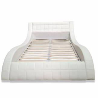 Lazo Queen Bed - White - Half Price!