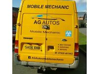 AG Autos Mobile Mechanic servicing repair mot diagnostic