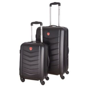 Brand new 2-piece hard-shell spinner Canada luggage set