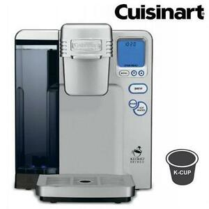 REFURB CUISINART K-CUP COFFEE MAKER SINGLE SERVE BREWING SYSTEM BY KEURIG Kitchen, Dining Bar Appliance