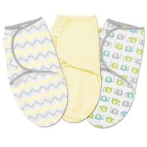 summer swaddle me wraps for baby size 7 to 14 lb for girl or boy