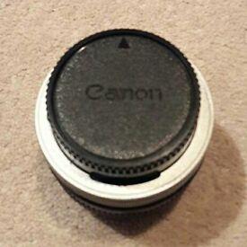 Standard canon lens