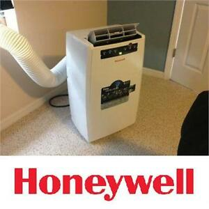 NEW* HONEYWELL AIR CONDITIONER 10000 BTU - PORTABLE - REMOTE - WHITE - FAN, COOLING DEHUMIDIFIER AIR QUALITY TEMPERATURE