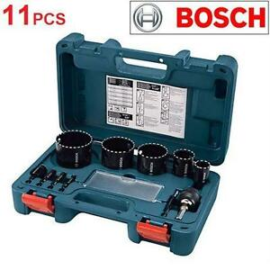 NEW BOSCH 11PC DIAMOND HOLE SAW BIT  ROTARY HAMMER CORE BITS  Tools Power  Hand Tools 77328584