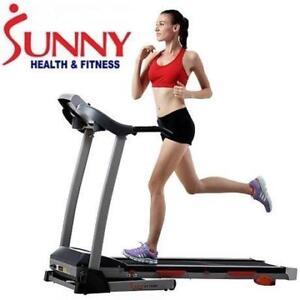 NEW*SUNNY 2.20 HP TREADMILL SF-T440 SF-T4400 143063877 FITNESS EXERCISE EQUIPMENT WORKOUT TRAINING RUNNING WALKING GY...