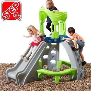 NEW STEP2 CASTLE TOP CLIMBER MOUNTAIN CLIMBER KIDS OUTDOORS SWING SETS CLIMBERS 113818579
