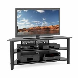 CorLiving TV Stand for TV's UpTo 68 - Black .Brand new box