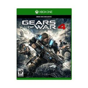 Gears of War 4 Sealed - Comes with Gears 1-3/Judgement Digital