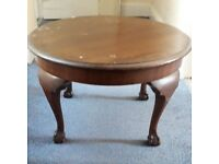 ANTIQUE low coffee table.