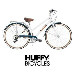 NEW* HUFFY ARLINGTON WOMEN'S BIKE 700C - BICYCLE - WHITE 7 SPEED WOMEN'S BIKE 108857110