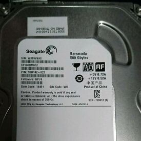 """3.5"""" 500gb hard drive"""