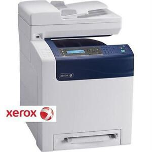 USED XEROX WORKCENTRE 6505 NETWORK COLOR ALL-IN-ONE LASER PRINTER