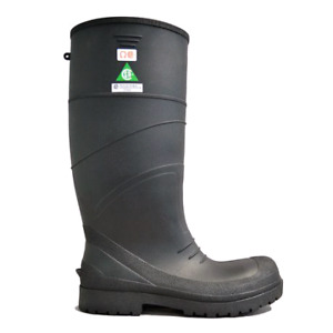 Steel toe rubber boots size 11