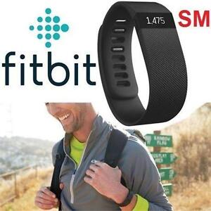 REFURB FITBIT CHARGE HR TRACKER SM FIT BLACK - SMALL - ACTIVITY TRACKER - FITNESS TRACKER - OUTDOORS - WRISTBAND