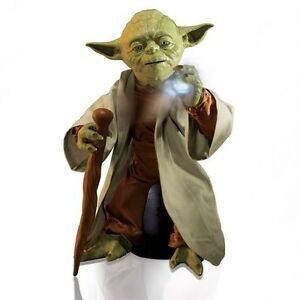 LEGENDARY MASTER YODA UP FOR SALE....GREAT CHRISTMAS GIFT !!!! Cambridge Kitchener Area image 4