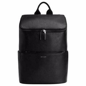 MATT & NAT® BRAVE BLACK BACKPACK